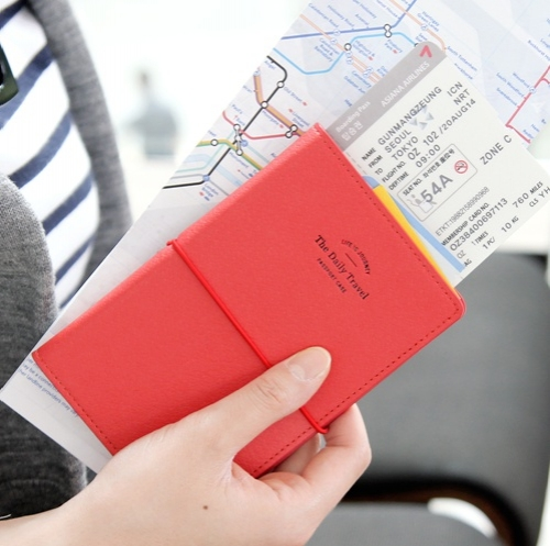 The daily travel passport case